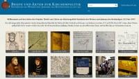 Ab jetzt verfügbar: Datenbank mit Quellen zur Kirchenpolitik Friedrichs des Weisen und Johanns des Beständigen