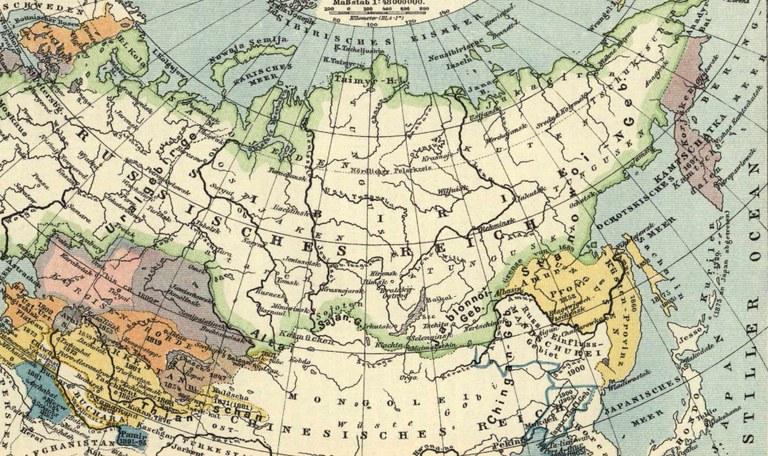 Darstellung Russisches Reich (Quelle: Brockhaus' Konversations-Lexikon. 14. Auflage)