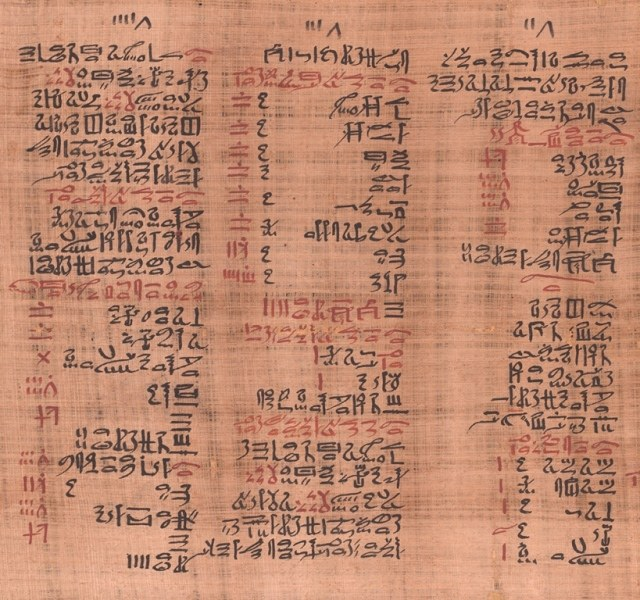 Universitätsbibliothek Leipzig, Papyrus Ebers, Kolumne 12-14