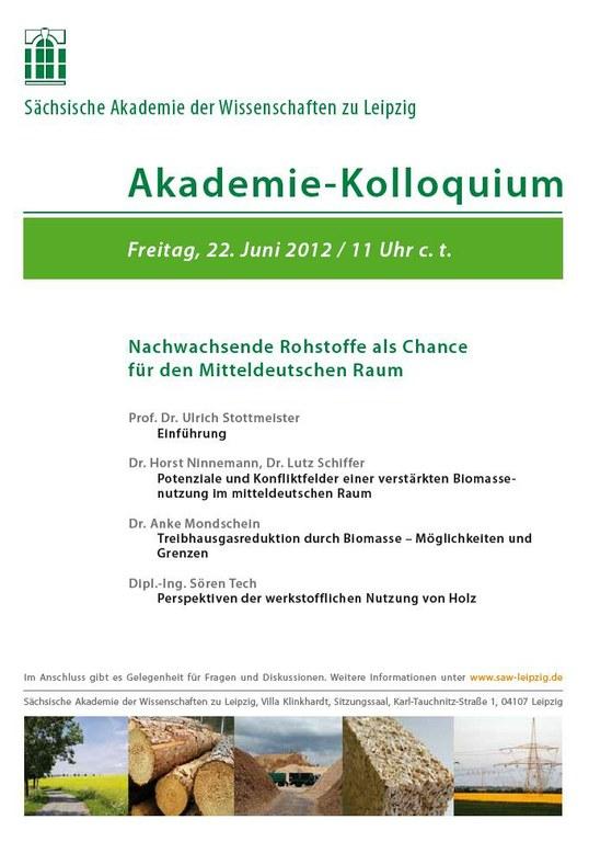 Einladung Akademie-Kolloquium 22.6.2012