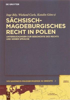 Sächsisch-magdeburgisches Recht, Band 2, Buchcover