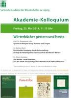 2014-05-23 Wörterbücher gestern und heute
