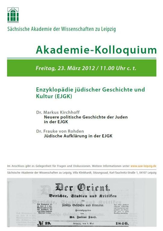 Akademie-Kolloquium 23.3.2012