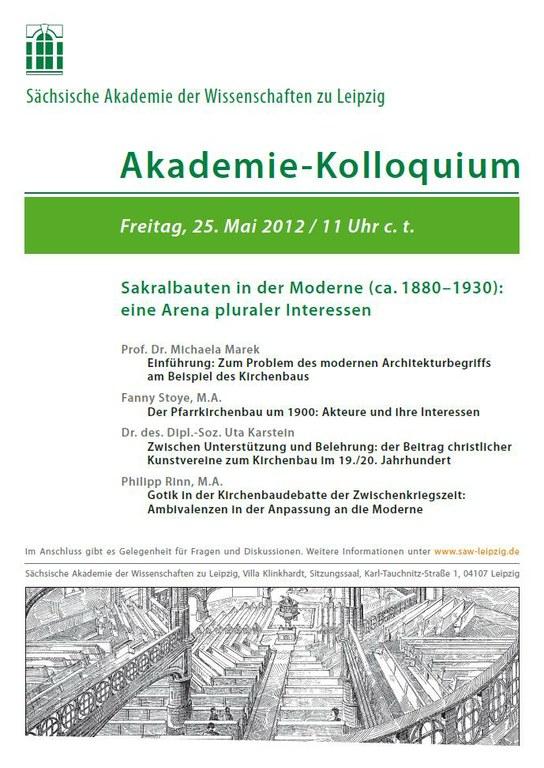 Akademie-Kolloquium 25.5.2012