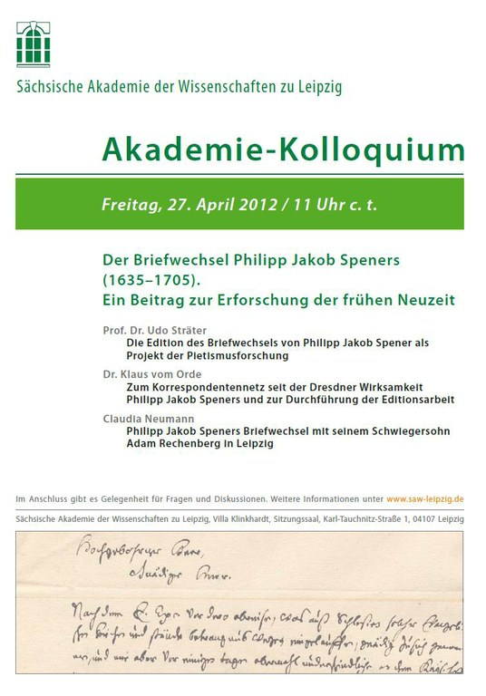 Akademie-Kolloquium April 2012