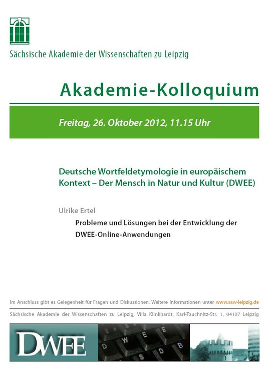 Akademie-Kolloquium DWEE