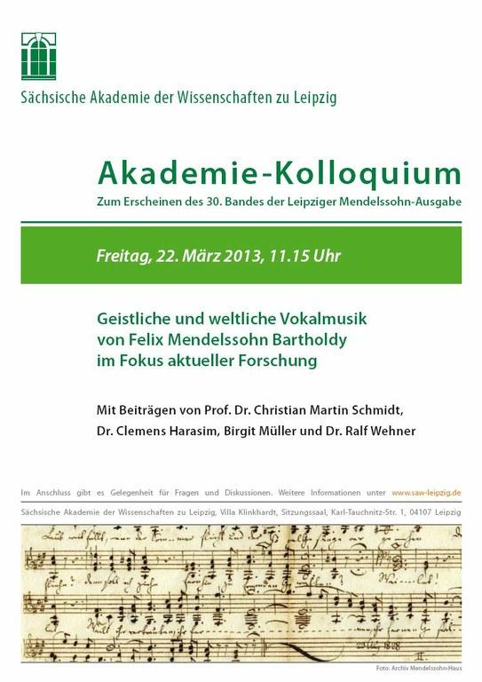 Einladung Akademie-Kolloquium 22.3.2013