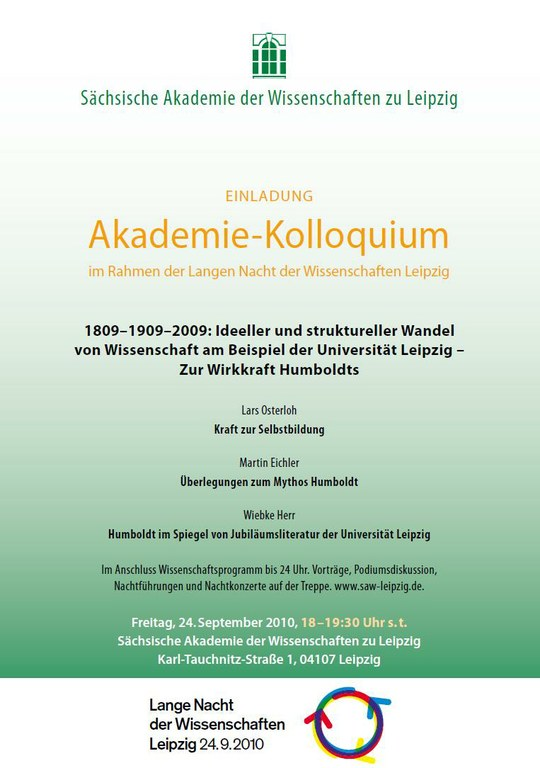 Einladung Akademie-Kolloquium 24.9.2010