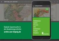 Jetzt online: Virtuelles Archiv der Sächsischen Akademie der Wissenschaften zu Leipzig
