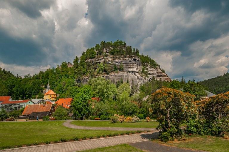 Oybin im Zittauer Gebirge in Ostsachsen, Foto: Peter Morth