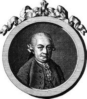 Carl Philipp Emanuel Bach, Stich von J. C. Krüger, Berlin 1778; Bach-Archiv Leipzig