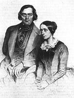 Robert und Clara Schumann, Daguerreotypie 1847