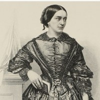 Bildnis der Clara Schumann von August Weger (© Universitätsbibliothek Leipzig)