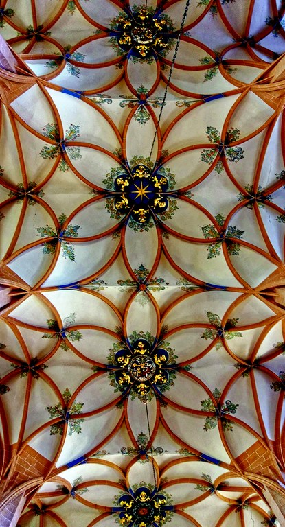 Gewölbe der Annenkirche in Annaberg-Buchholz, Foto: Stefan Bürger
