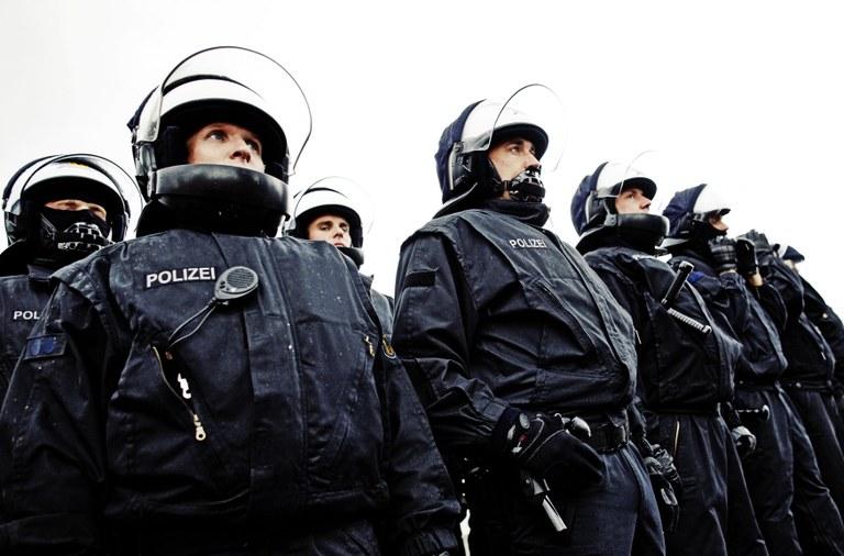 Bereitschaftspolizeilicher Einsatz, Quelle: BPOL