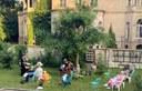 Rückblick auf Vortrag und Rundgang durch den karolingischen Akademie-Garten