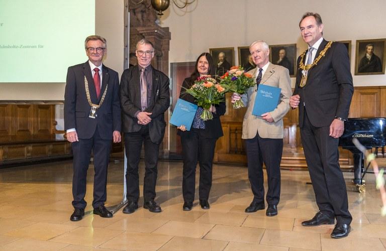 Rückblick: Verleihung des Leipziger Wissenschaftspreises 2019
