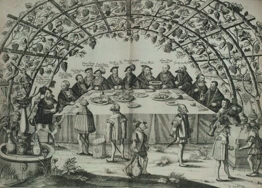»Schmalkaldischer Bund: das ›Liebesmahl‹ auf der Wilhelmsburg in Schmalkalden (1531)« von Peter Troschel