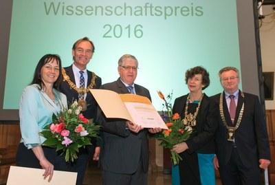 Verleihung des Leipziger Wissenschaftspreises 2016