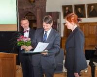 Verleihung des Theodor-Frings-Preises an Christine Ganslmayer