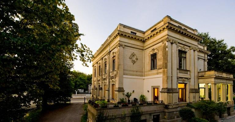 Sächsische Akademie der Wissenschaften zu Leipzig, Haus außen