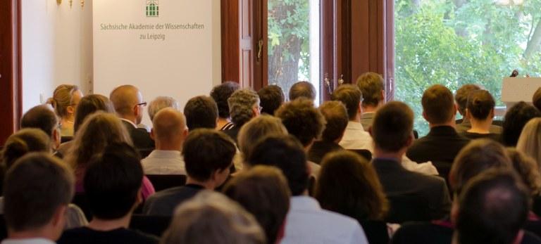 Sitzungssaal während Veranstaltung