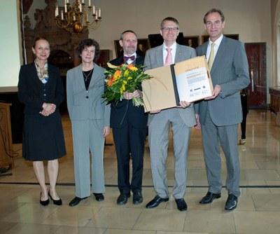 Verleihung des Leipziger Wissenschaftspreises 2011