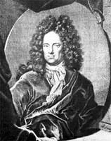 Ehrenfried Walther von Tschirnhaus, Stich von M. Bernigeroth, Kupferstichkabinett Dresden