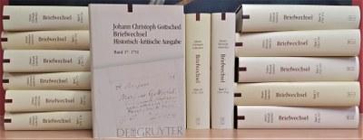 Edition des Briefwechsels von Johann Christoph Gottsched