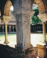 Kreuzgang in der Abtei Moissac, Foto: Gert Melville