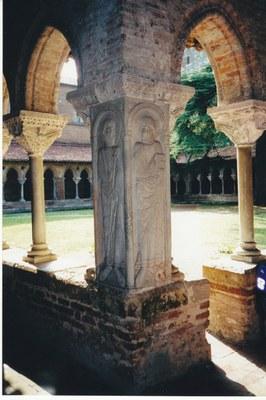 Kreuzgang in der Abtei Moissac