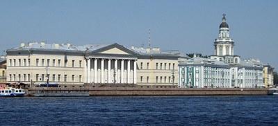 Ehemalige Kaiserliche Akademie der Wissenschaften zu St. Petersburg und Kunstkammer, Foto: Elena Roussanova
