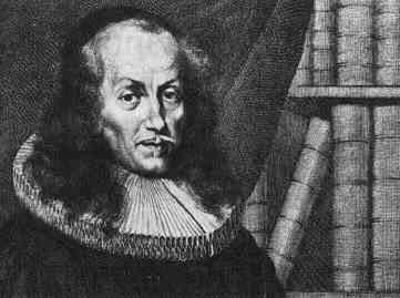 Philipp Jakob Spener, Kupferstich von Philipp Nikolaus Kilian (1628-1693), 1683. Quelle: Wikimedia Commons